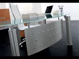 Modern Glass Office Desks Glass Office Desk And Desks For Home Furniture Intended