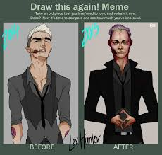 Hunter Meme - before and after meme lex hunter by the lost visionary on deviantart