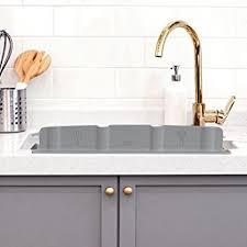 Amazoncom Eutuxia Silicone Sink Water Splash Guard W Suction - Kitchen sink splash guard