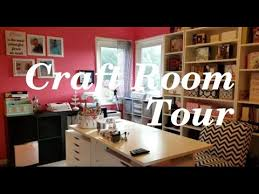 Jennifer Mcguire Craft Room - craft room tour 2016 youtube