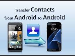 from android how to transfer contacts from android to android
