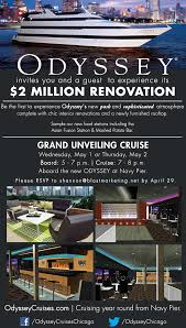 chicago invite odyssey chicago two million dollar renovation u0026 grand unveiling