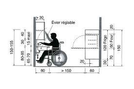 norme hauteur plan de travail cuisine une cuisine aménagée pour un fauteuil roulant côté maison