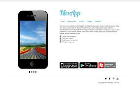 download themes on mobile phone niceapp 3 in 1 theme for mobile apps landing pages wrapbootstrap