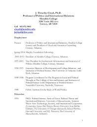 Resume University Tim Cloyd U0027s Cv And Resume