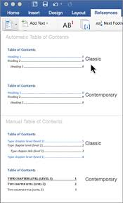 create table of contents in word create a table of contents in word for mac word for mac