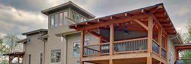 house back porch timber frame porch deck u0026 entrance projects built by moresun