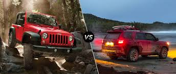 jeep toyota 2015 jeep wrangler vs 2015 toyota 4runner mac haik dodge