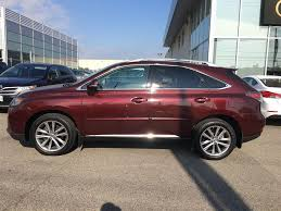 used lexus rx 350 for sale in ontario used 2015 lexus rx 350 sportdesign touring package for sale in