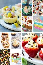 easter desserts 50 festive easter dessert recipes dinner at the zoo