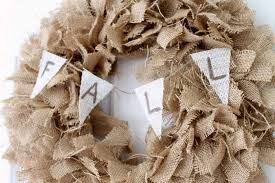 fall burlap wreath make this for your home the country chic cottage