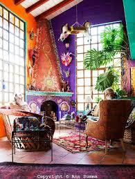 bohemian decorating orange home decor that is surprisingly chic