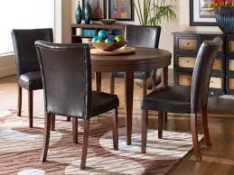 dakota skyline dining table with belvedere chairs cort com