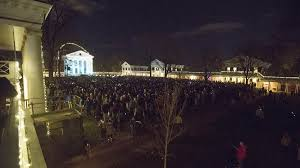 lighting of the lawn u0027 tradition draws thousands to grounds uva today
