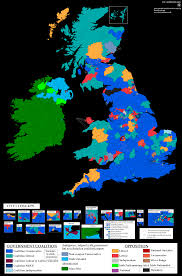 Election Map Results by Results Of Uk And Ireland General Election Of 1918 Maps