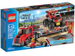 monster truck transporter 60027 lego shop