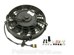 oil cooler with fan auxiliary fan for front oil cooler 91162412101 genuine porsche
