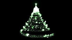 flowing light christmas tree hd computer animated christmas