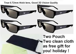New 3d Tv Amazon Com Vizio Xpg202 Theater 3d Passive 3d Glasses Pack Of 4