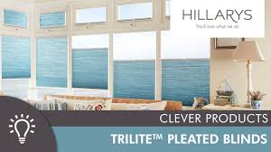 hillarys top down bottom up trilite pleated blinds youtube