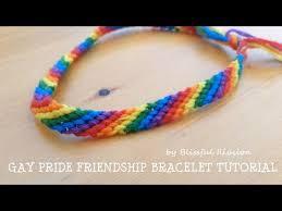 friendship bracelet rainbow images Gay pride friendship bracelet tutorial by blissful illusion jpg