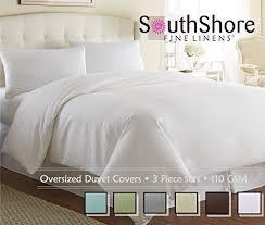 White Linen Duvet White Linen Duvet Cover Amazon Com