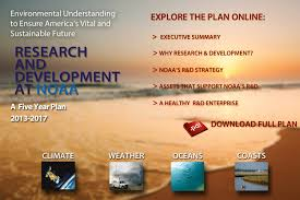 noaa 5 year research and development plan 2013 2018