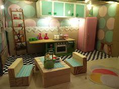 dollhouse table chairs jenga sticks diy das polly