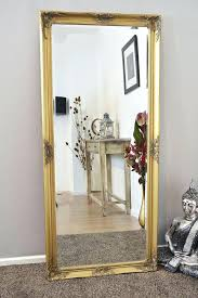 Shabby Chic Mirrors For Sale by Wall Mirror H O L L Y W O O D Vintage Leaning Mirror Floor
