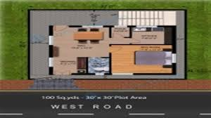 floor plans 30 x 30 house youtube