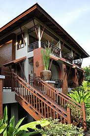 thai house designs pictures modern design for this thai house surrounded by vegetation