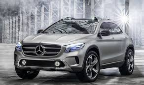 mercedes size suv the size of the mercedes gla is intended for