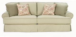 2 Piece Sofa Slipcovers by Living Room Sure Fit Stretch Pinstripe Pc T Cushion Sofa