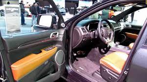 Grand Cherokee Srt Interior 2014 Jeep Grand Cherokee Srt Exterior And Interior Walkaround