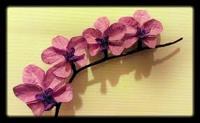 origami orchid tutorial origami orchids by origamichemist on deviantart