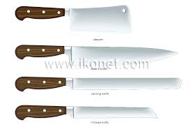 ontario kitchen knives knifes hickory chef knife cooks knife utility