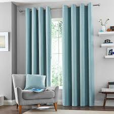 Teal Eyelet Blackout Curtains 15 Ideas Of Duck Egg Blue Blackout Curtains Curtain Ideas