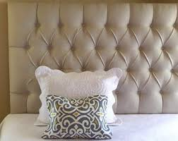 custom headboards and home accents by thetuftedfrog on etsy