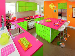 colorful kitchens ideas bright coloured kitchen 30 colorful kitchen design ideas from hgtv