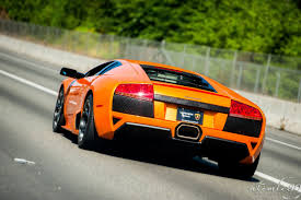 Lamborghini Murcielago V12 - 2007 manual transmission arancio atlas lamborghini murcielago
