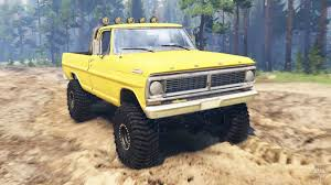 Ford F 250 Tonka Truck - cars for spin tires