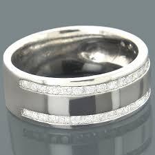 mens diamond engagement rings 14k gold mens diamond engagement ring 0 44ct