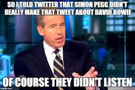 Simon Meme - simon pegg imgflip
