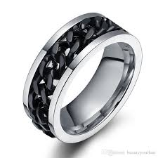 stainless steel mens rings stainless steel ring finger rock jewelry wholesale