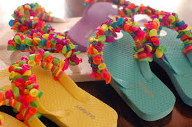 15 fun diy summer flip flops she mariah