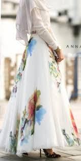 silk skirt modest maxi skirt length stylish trendy fashion mode sty