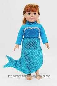Mermaid Costumes Halloween Sew Mermaid Costume Nancy Zieman Sewing Nancy