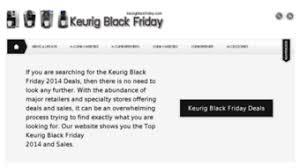 keurig black friday deals everything on keurigblackfriday com keurig black friday 2014 get