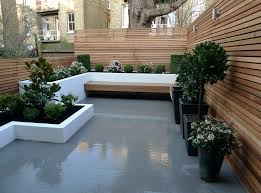 small modern garden design ideas mixed with some alluring
