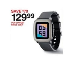 when is target black friday sale pebble time smartwatch at target black friday sale